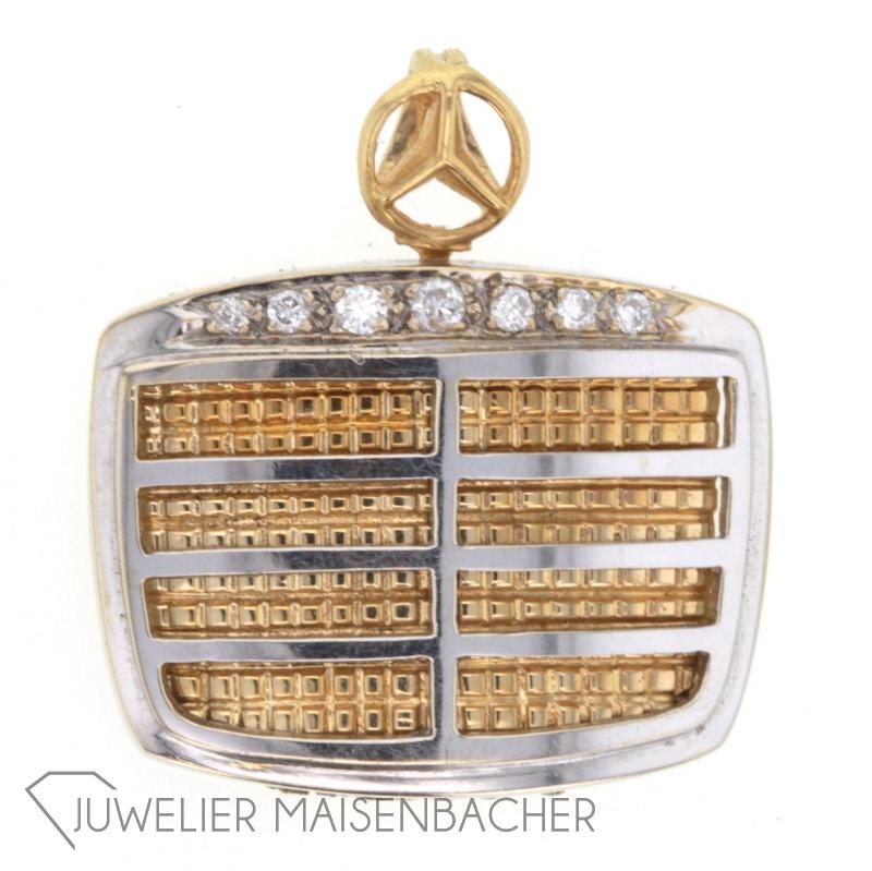 anh nger mercedes benz bicolor jetzt online kaufen juwelier maisenbacher. Black Bedroom Furniture Sets. Home Design Ideas