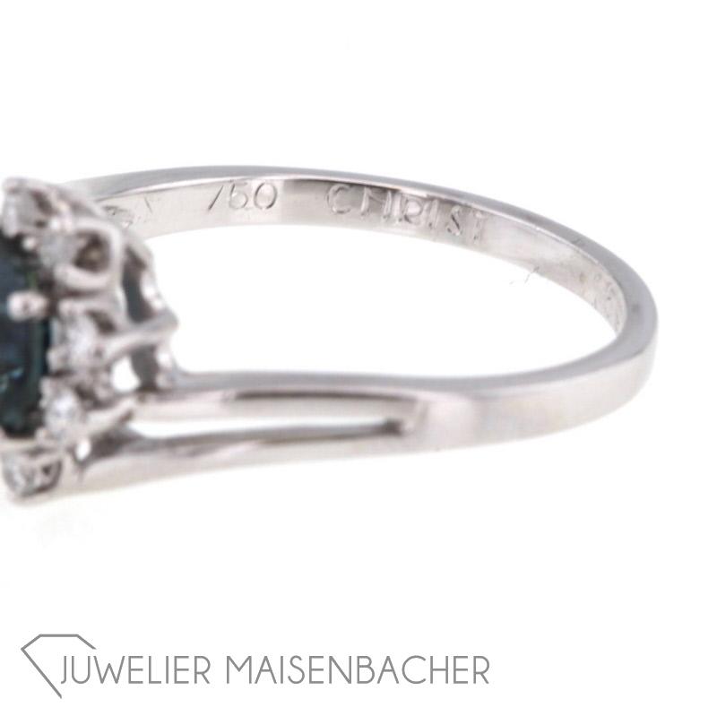 Christ Saphir Ring Aus Weissgold Jetzt Online Kaufen Juwelier