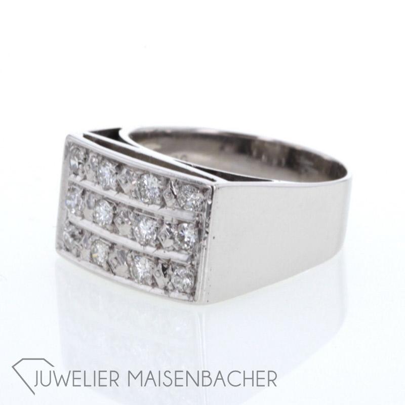 maskuliner diamantring jetzt online kaufen juwelier maisenbacher. Black Bedroom Furniture Sets. Home Design Ideas