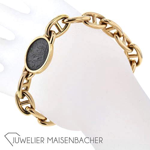 Atelier Hermsenhandgefertigtes Armband Antike Münze Jetzt Online