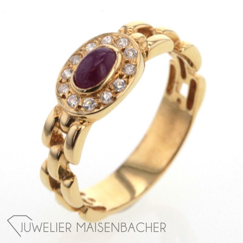 ketten ring rubin gold jetzt online kaufen juwelier maisenbacher. Black Bedroom Furniture Sets. Home Design Ideas