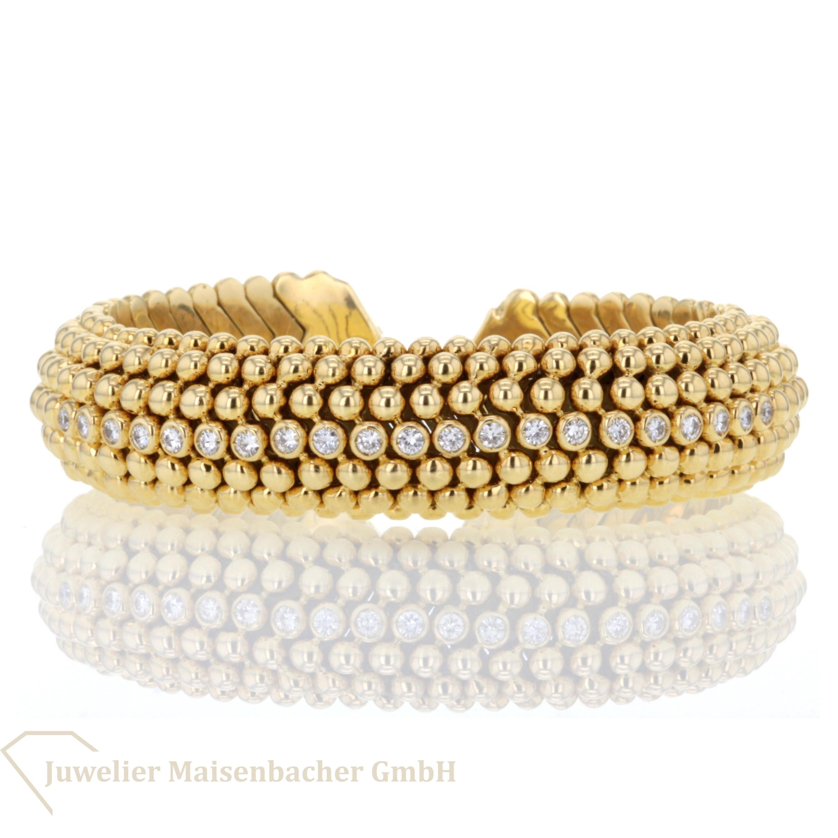 kugel armreif mit diamanten jetzt online kaufen juwelier maisenbacher. Black Bedroom Furniture Sets. Home Design Ideas