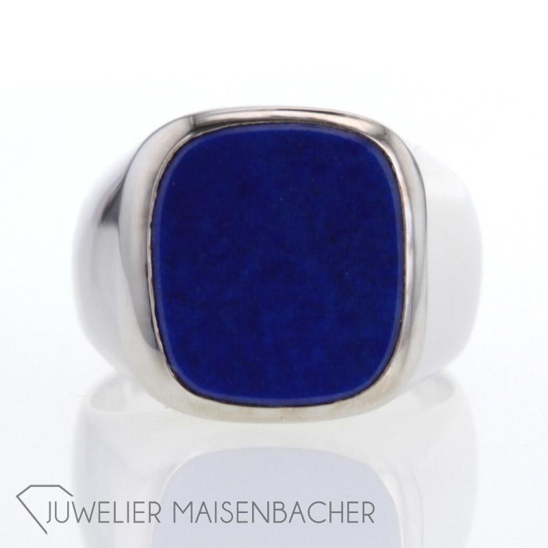 siegel ring lapislazuli jetzt online kaufen juwelier maisenbacher. Black Bedroom Furniture Sets. Home Design Ideas